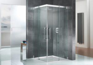 Duschsanierung - Dusche gefliest